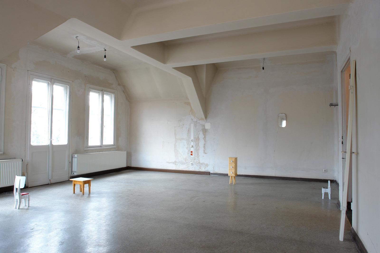 Weimar, 2007 shot cuts (van de Velde), Möbelfragmente