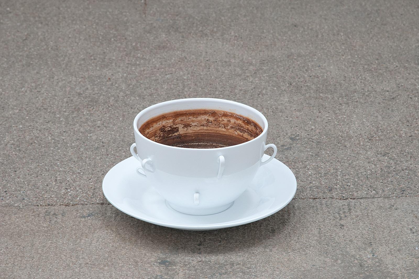 giant tea cup