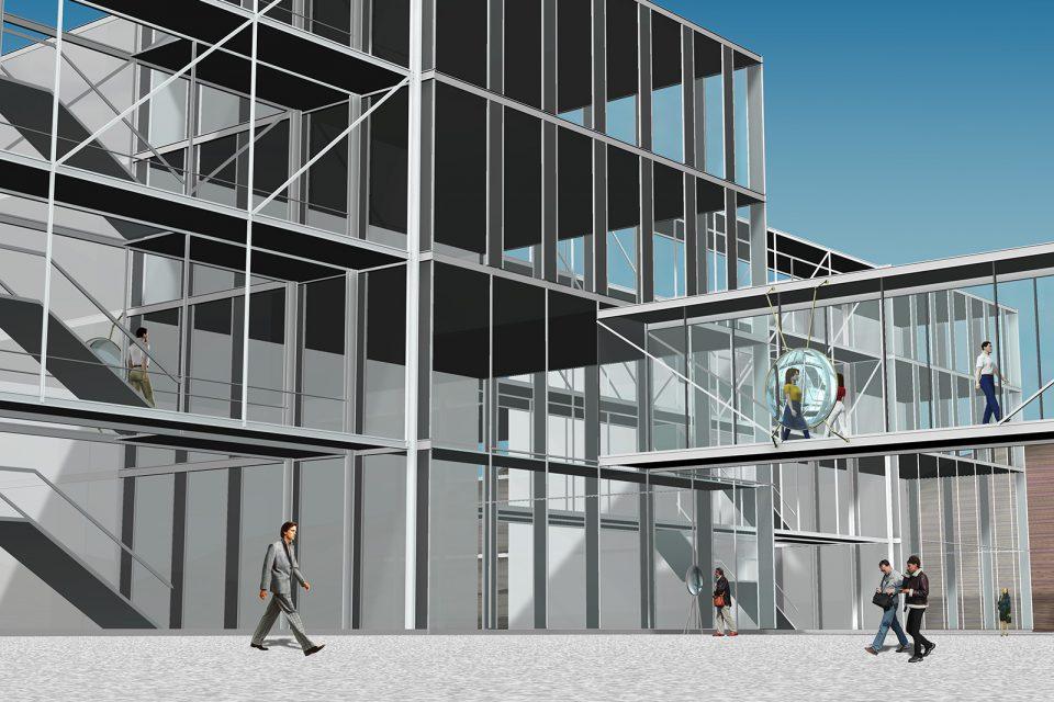 glas-magnifying-sculpture-university,krems