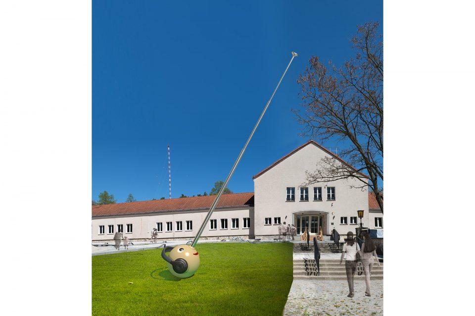 public-sculpture-radio-operator-signalman-pinocchio