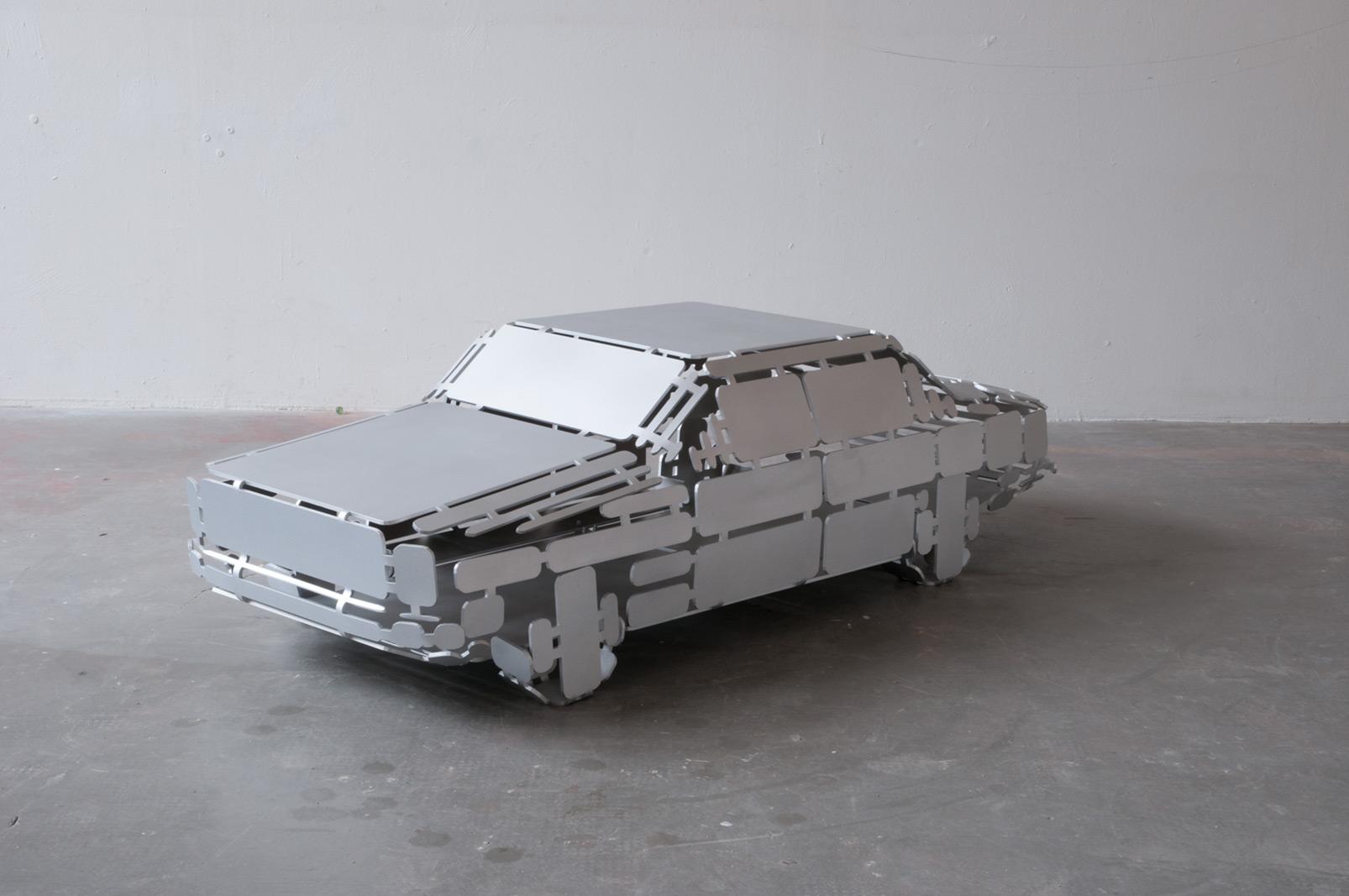 carsculpture aluminium