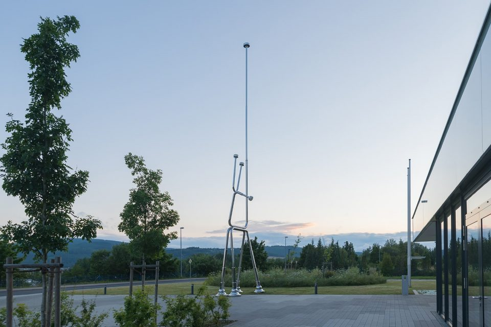 antenna sculpture public space