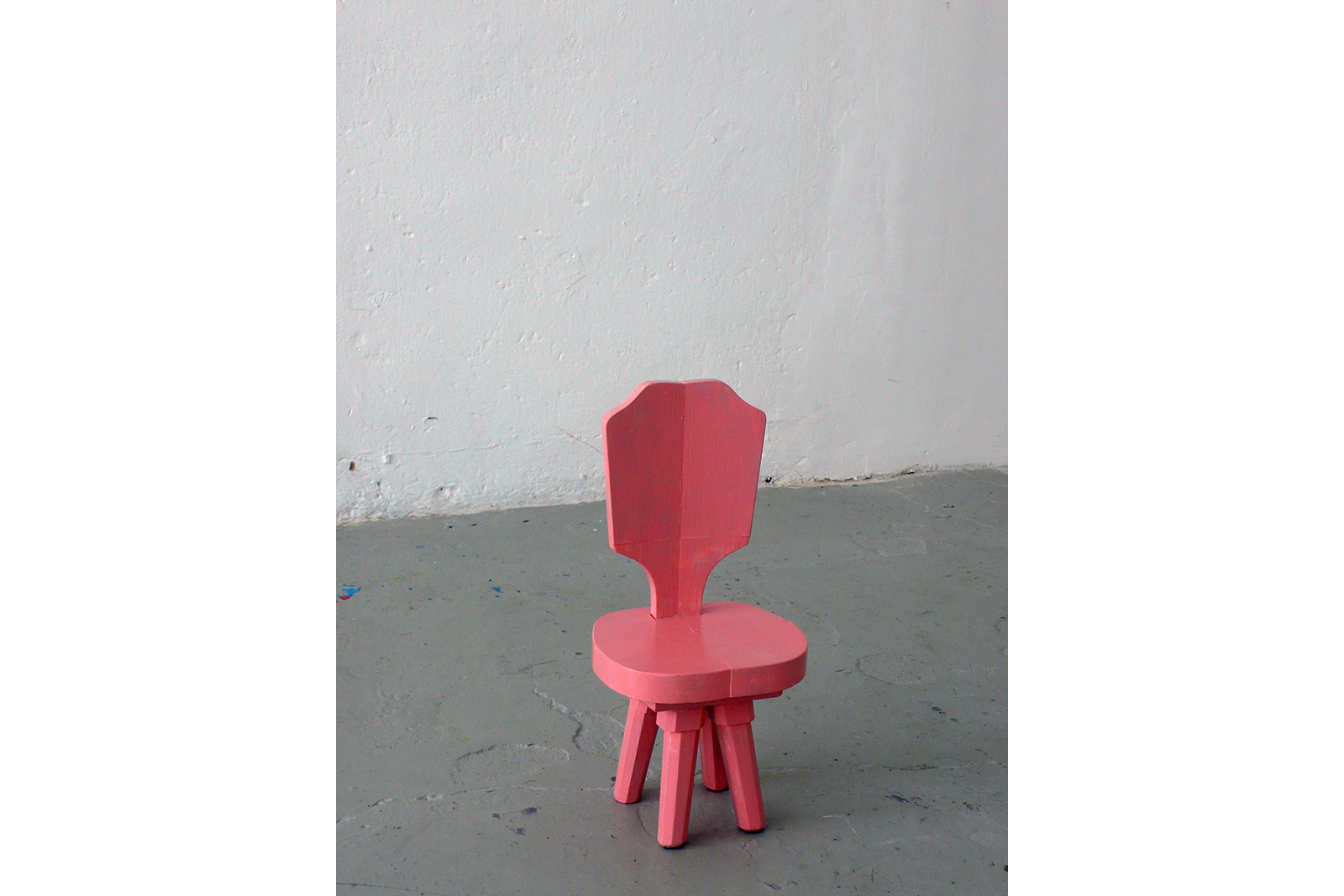 small chair sculpture