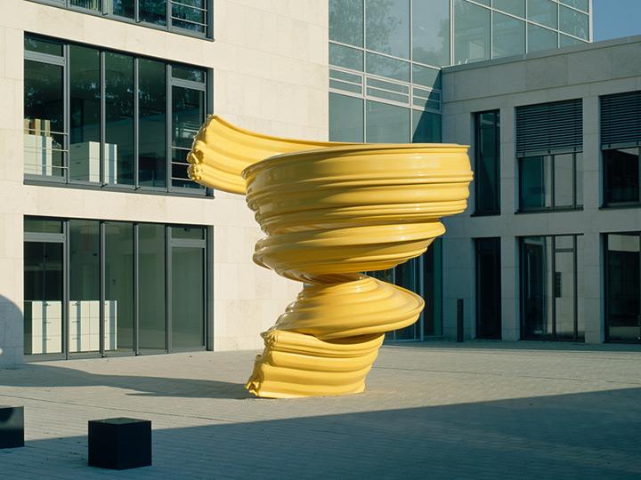 upswing -public sculpture munich